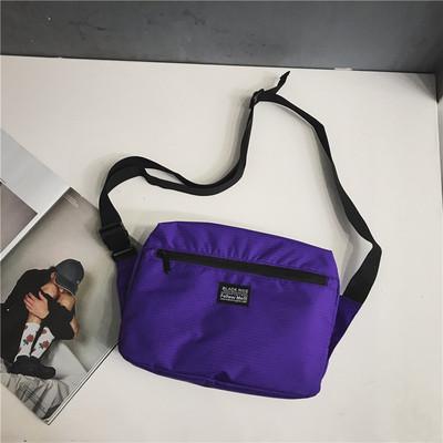 Men Waterproof Nylon Lightweight Small Casual Chest Bag