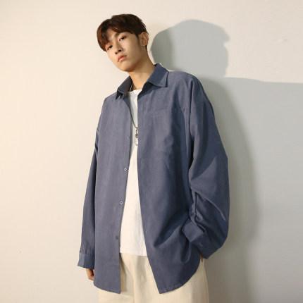 Men Clothing Long-sleeved Loose Casual Jacket