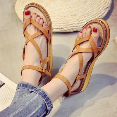 Women's Female Summer Rome Flat Sandals