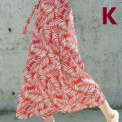 Women Clothing Mid-length High Waist Vacation Beach Chiffon Skirt