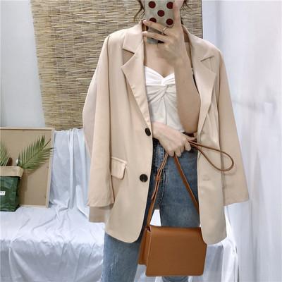 Women Clothing Retro Small Suit Jacket