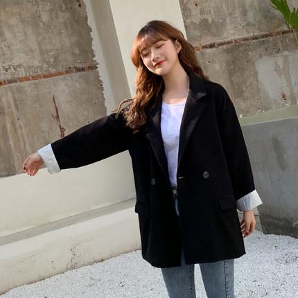 Women Clothing Long-sleeve Loose British Style Coat