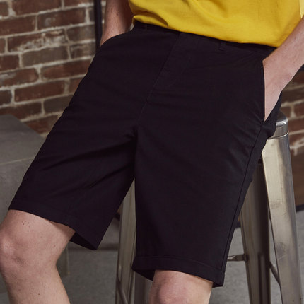Men Clothing Breathable Summer Five-point Pants