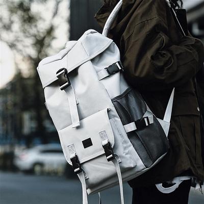 Men Schoolbag Fashion Trend Large Capacity Backpack