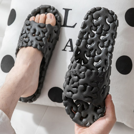 Men Non-slip Quick-drying Indoor Bathroom Slippers