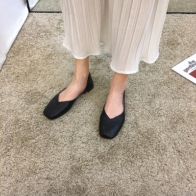 Women Casual Wear Shallow Mouth Peas Shoes