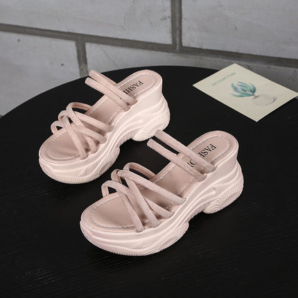 Women New Thick-soled Platform Casual Sandals