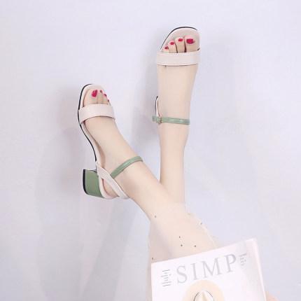 Women High Heel Summer Sandals Fairy Style
