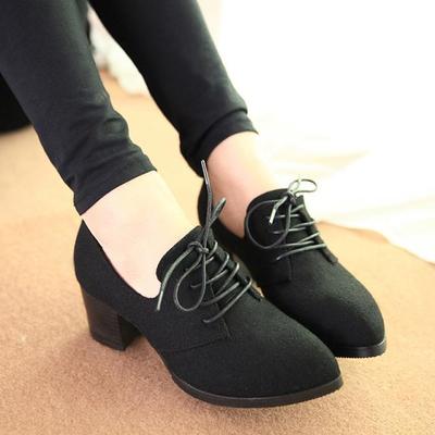 Women Scrubs Pointed-Head High Heels Boots