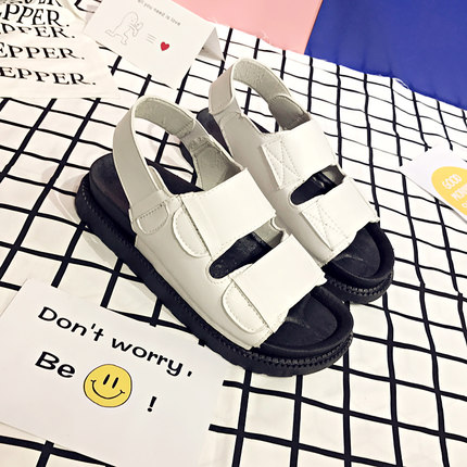 Women Casual Velcro Beach Sandals