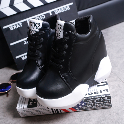 Women PU Platform Sneaker
