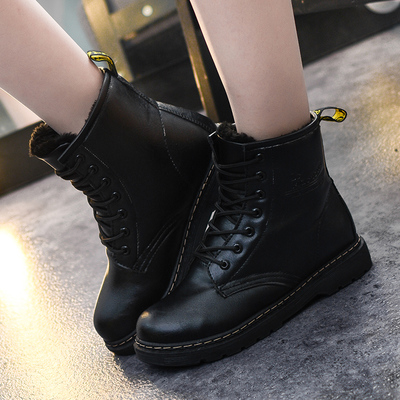 Women Winter Martin Lace Boots