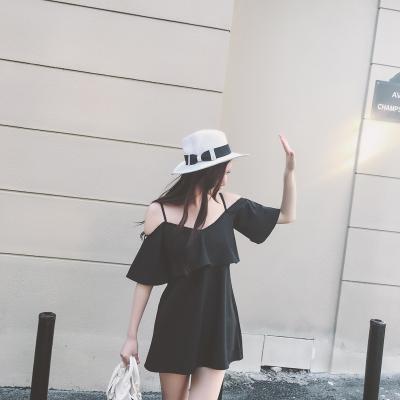 Women Sling Off Shoulder Dress