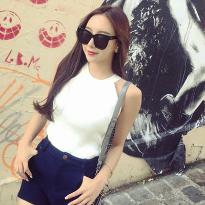 Women Sexy Slim Sleeveless Top