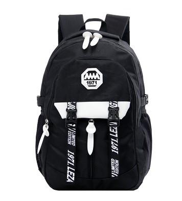 Men Canvas Travel College Student Backpack